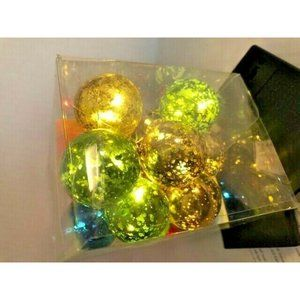 Holiday Time 18 LED Green Gold Blue Red Bulb